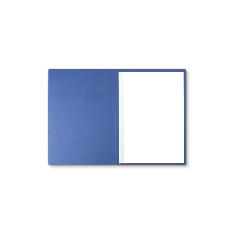Lederstruktur 1-teilig in Blau mit 1 Klemmschiene