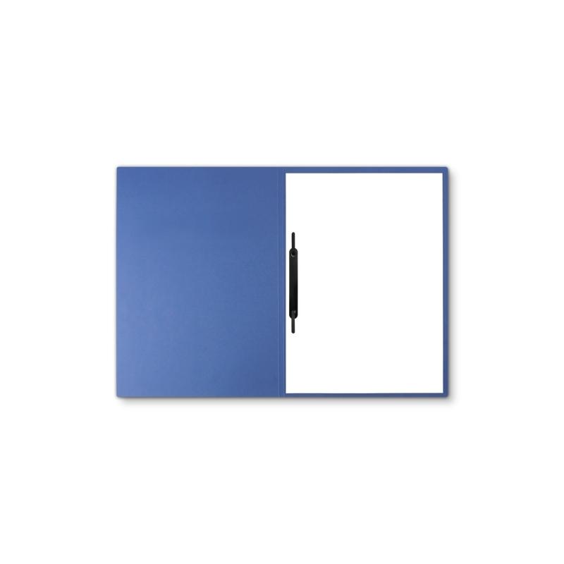 Lederstruktur 1-teilig in Blau mit 1 Heftstreifen