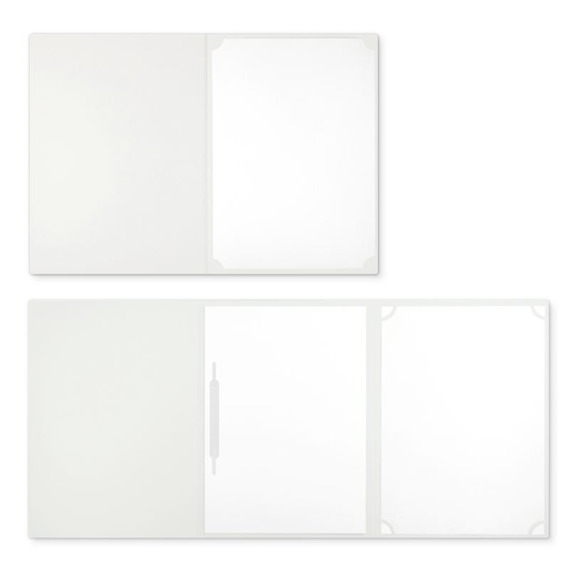 Textilstruktur 3-teilig Pearl White Heftstreifen BUSINESS