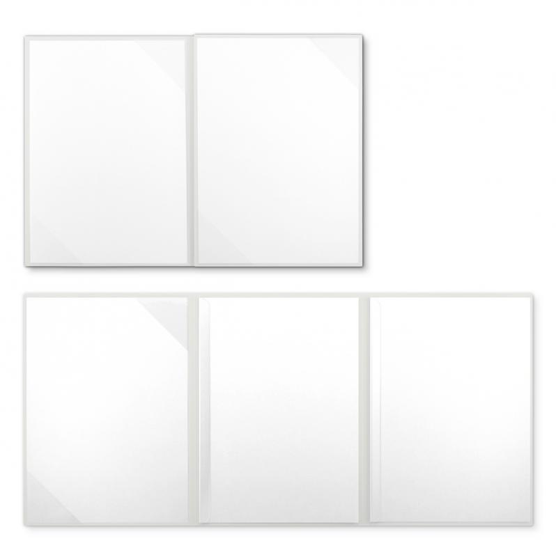 Textilstruktur 4-teilig Pearl White Klemmschienen SUCCESS