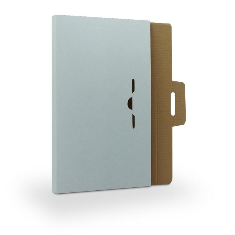 5 Stück Spezial-Versandkartons in Weiß für Ihre DIN A4 Inhalte