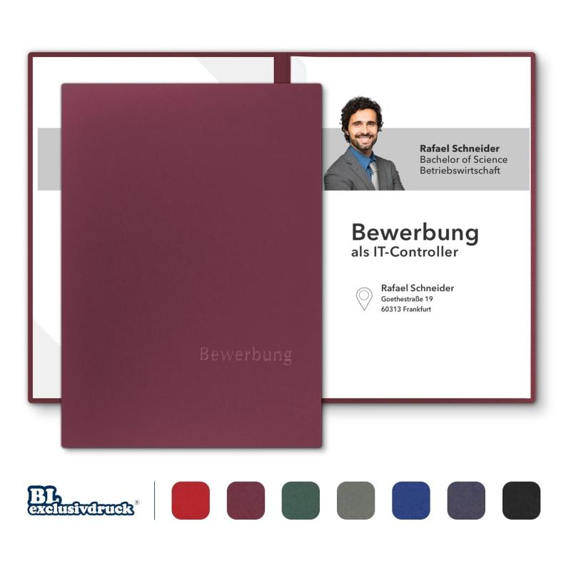 BL-exclusivdruck® BL-plus Bewerbungsmappe