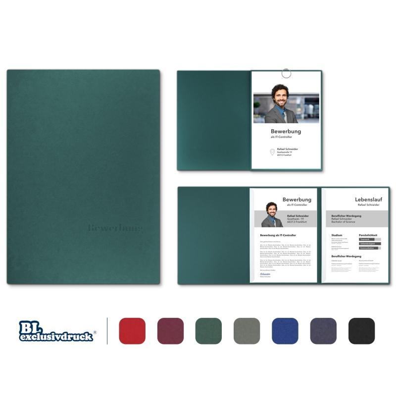 BL-exclusivdruck® OPTIMA Bewerbungsmappe