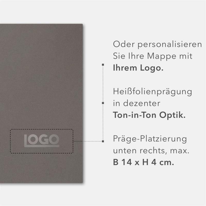 5 Stück Zeugnismappen BL-exclusivdruck® OPTIMA-plus Holzstruktur