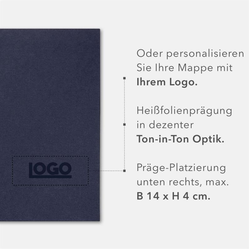 8 Stück Zeugnismappen BL-exclusivdruck® BL-plus Holzstruktur