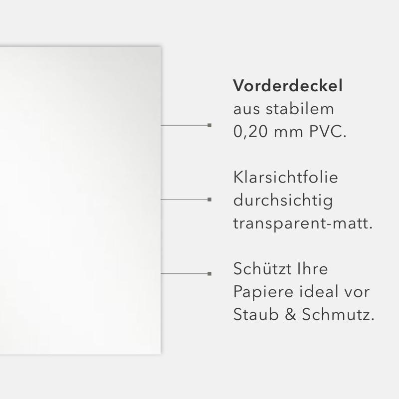 6 Stück STRATAG Klemmmappen Klemmschienen-Set % SALE