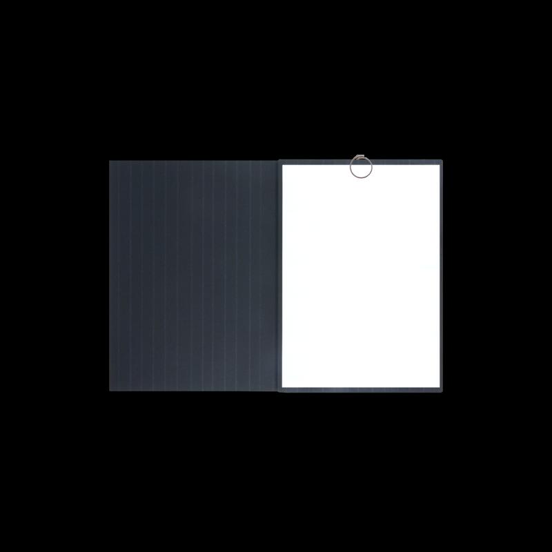 Textilstruktur 3-teilig Navy Blue Heftstreifen SPIRIT