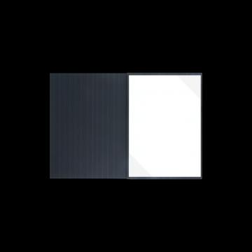 Textilstruktur 3-teilig Navy Blue Klemmschienen EXKLUSIV