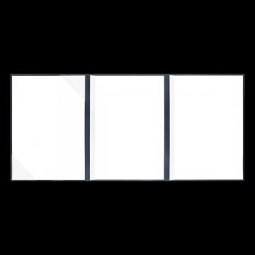 Textilstruktur 4-teilig Navy Blue Klemmschienen SUCCESS
