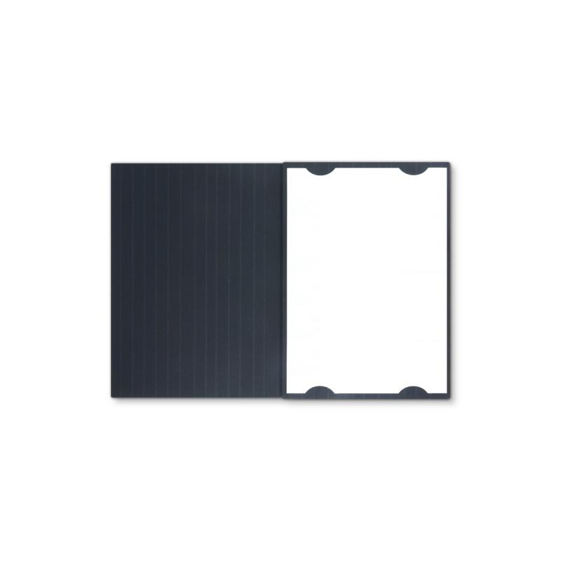 Textilstruktur 3-teilig Navy Blue Heftstreifen IMAGE