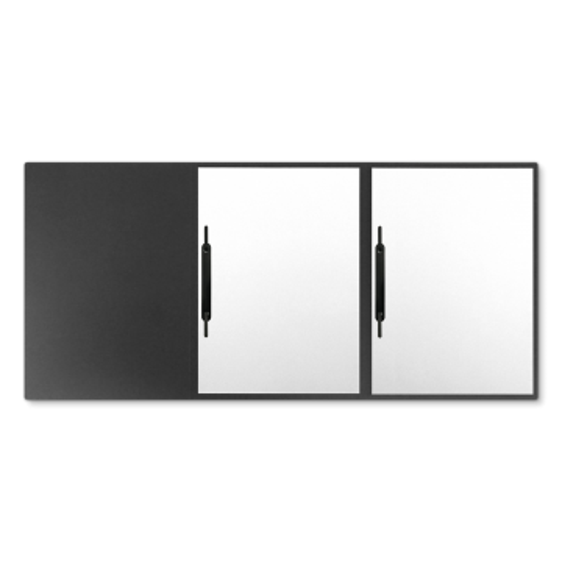 Textilstruktur 3-teilig Dark Grey Heftstreifen IMAGE