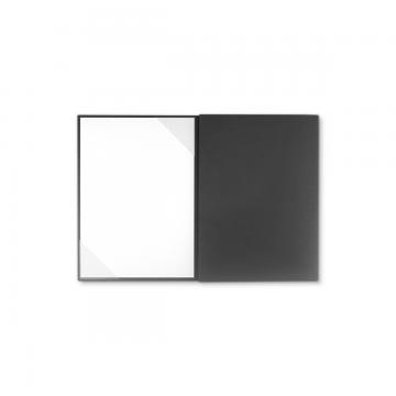 Textilstruktur 3-teilig Dark Grey Heftstreifen PRESTIGE