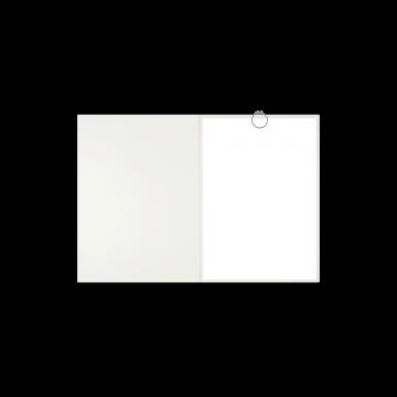 Textilstruktur 3-teilig Pearl White Klemmschienen SPIRIT