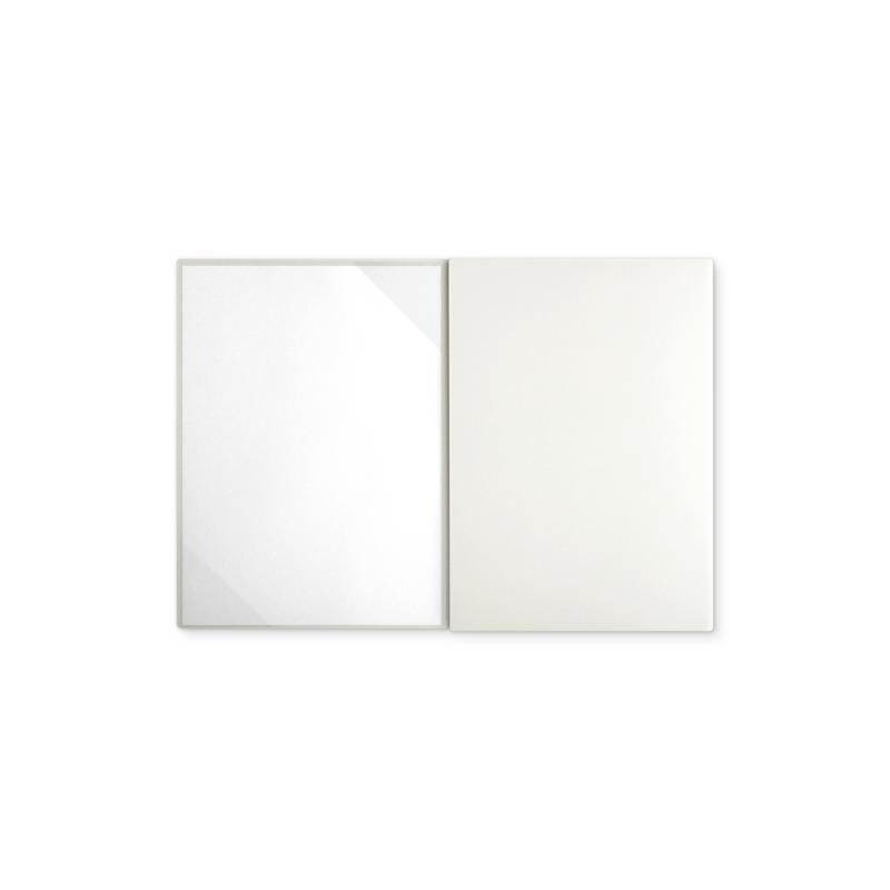 Textilstruktur 3-teilig Pearl White Heftstreifen PRESTIGE