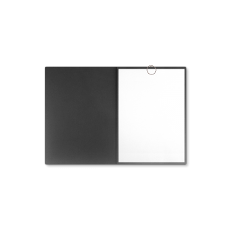 Textilstruktur 3-teilig Dark Grey Klemmschienen SPIRIT