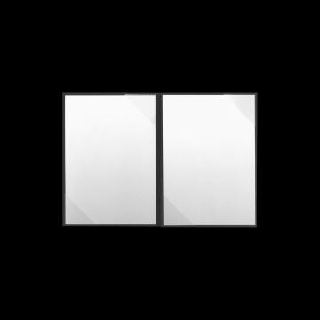 Textilstruktur 4-teilig Dark Grey Heftstreifen SUCCESS