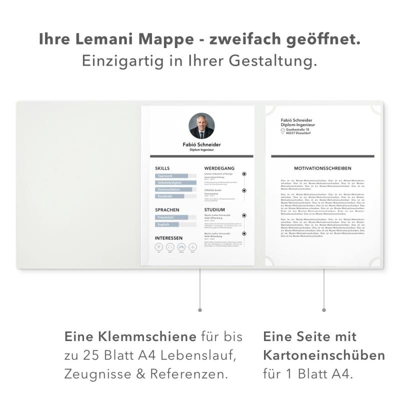 Lemani® BUSINESS Bewerbungsmappe
