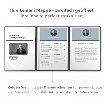 Lemani® PRESTIGE Bewerbungsmappe