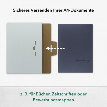 10 Stück Spezial-Versandkartons in Weiß für Ihre DIN A4 Inhalte