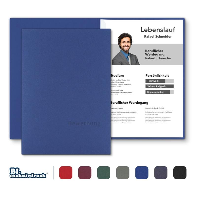 BL-exclusivdruck® BL Bewerbungsmappe