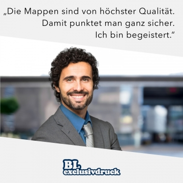 BL-exclusivdruck® BL-plus Bewerbungsmappe