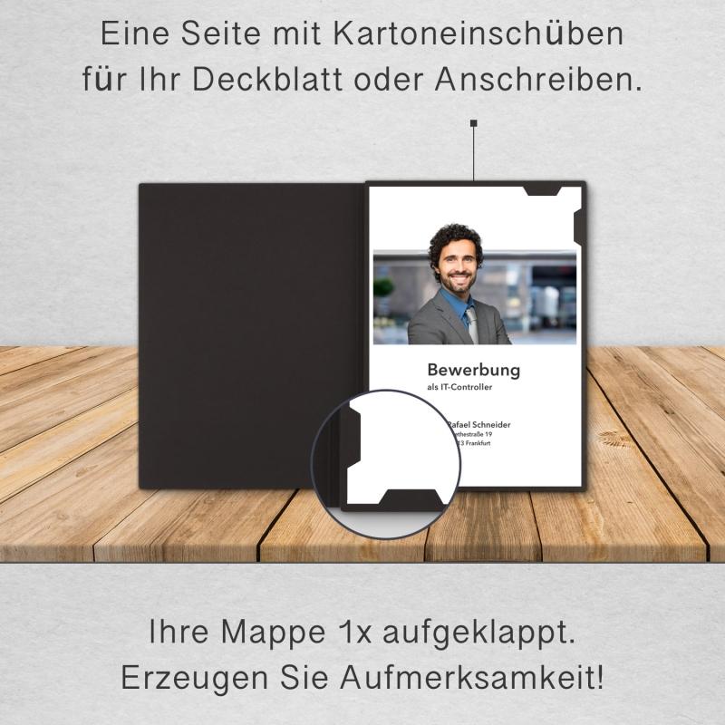BL-exclusivdruck® EASY Bewerbungsmappe