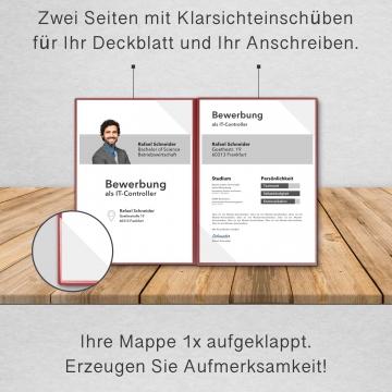 BL-exclusivdruck® MEGA-plus Bewerbungsmappe