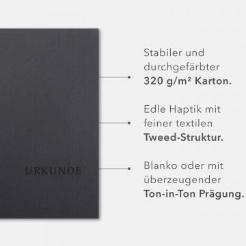 8 Stück Urkundenmappen Lemani® BASIC-plus Textilstruktur
