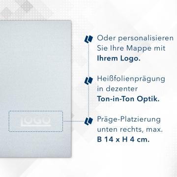 8 Stück Urkundenmappen Esclusiva® Basic Metallic-Design