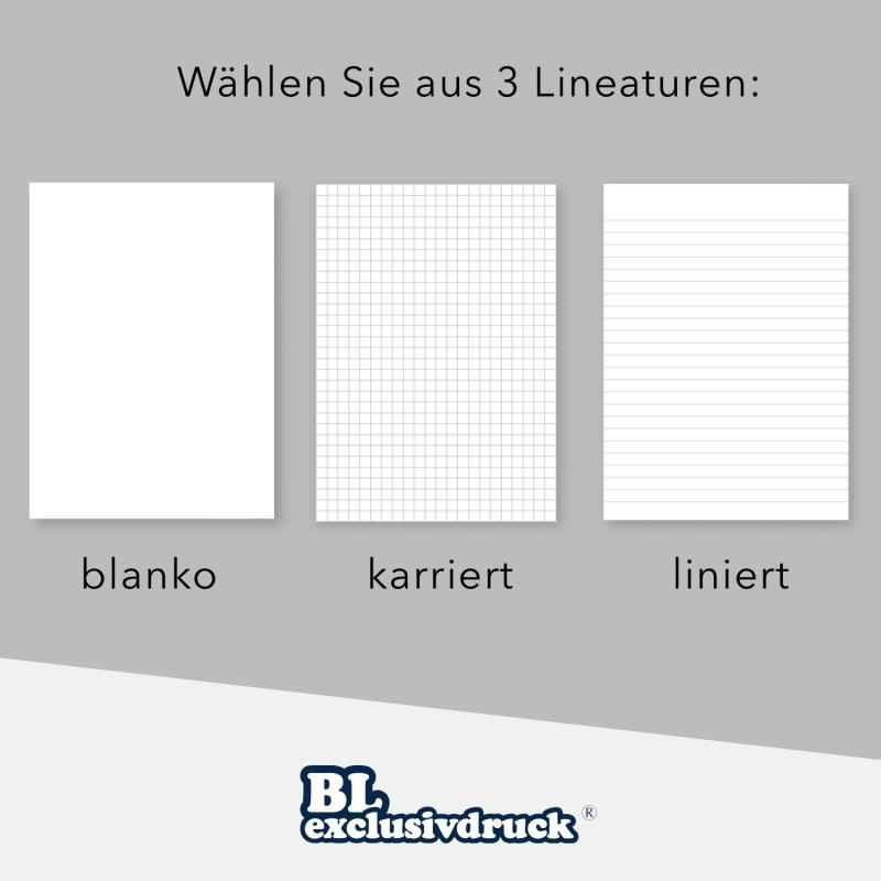 5 Stück 4-teilige Tagungsmappen mit Schreibblock BL-exclusivdruck® SPIRIT-plus Holzstruktur